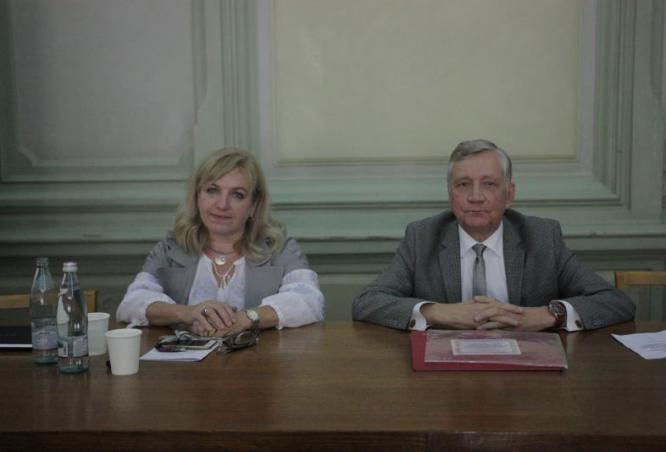 Проф. Андріюк Л.В. та проф. Коваленко О.Є.