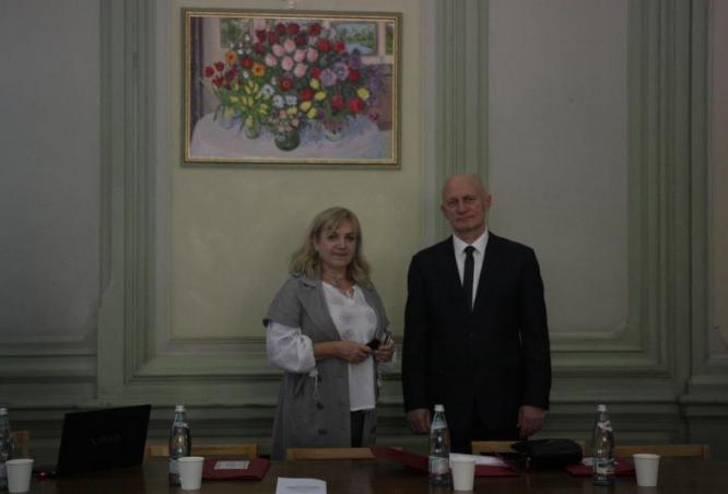проф. Шекера О.Г. та проф. Коваленко О.Є.