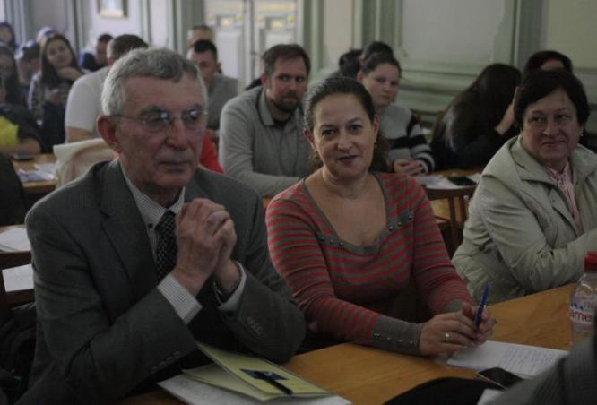 Проф. Бобков В. (США) та Смола Є. (Німеччина)