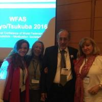 Olga Kovalenko (Ukraine) and Aldo Liguori (Italy) - Vice President of WFAS