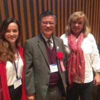 Зустріч через 2 роки з доктором Shan Ping Liang (USA), Vice President WFAS