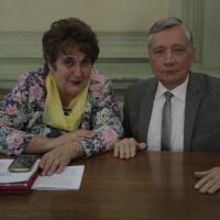 Проф. Гарник Т.П. та проф. Адріюк Л.В.